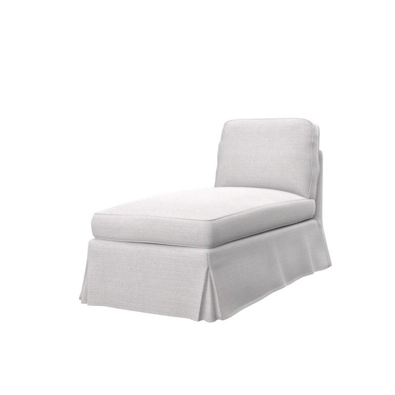 Chaiselongue ikea  IKEA EKTORP free standing chaise longue cover - IKEA sofa covers ...