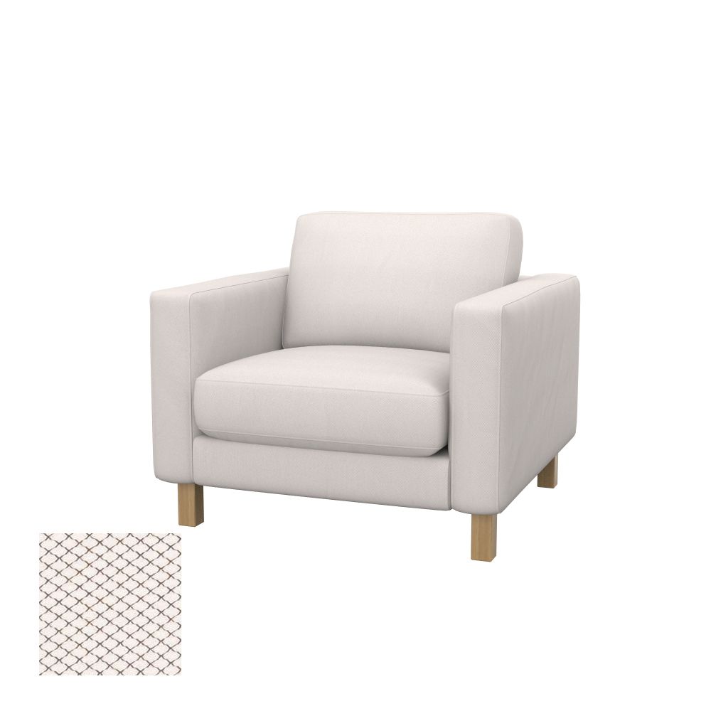 IKEA KARLSTAD Armchair Cover From SOFERIA - 50% Off