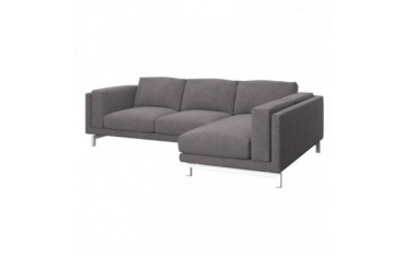 NOCKEBY 2-seat sofa cover with left chaise longue