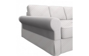 IKEA BACKABRO armrest cover with chaise longue, pair