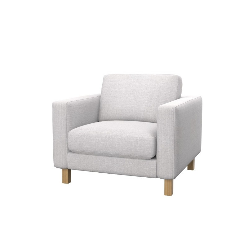 ikea karlstad armchair cover soferia covers for ikea. Black Bedroom Furniture Sets. Home Design Ideas