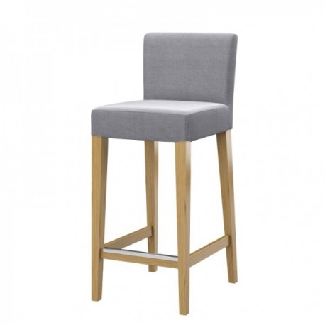 HENRIKSDAL hocker chair cover with backrest