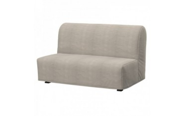 LYCKSELE 2-seat sofa-bed cover