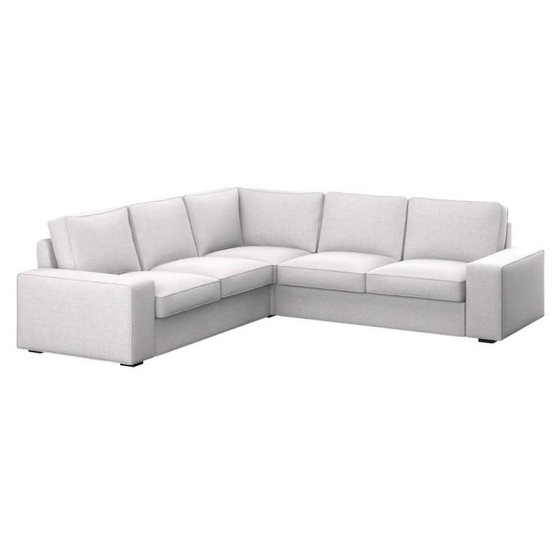Kivik 2 2 corner sofa cover soferia covers for ikea - Sofas en esquina ...