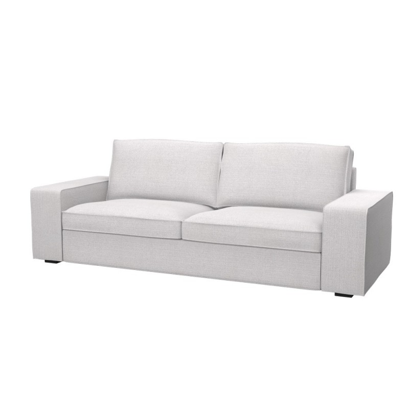 Ikea kivik 3 seat sofa bed cover soferia covers for for Sofa kivik 3 plazas