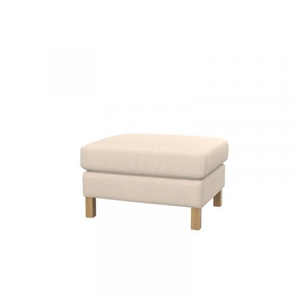 Incredible Ikea Karlstad Footstool Cover Creativecarmelina Interior Chair Design Creativecarmelinacom