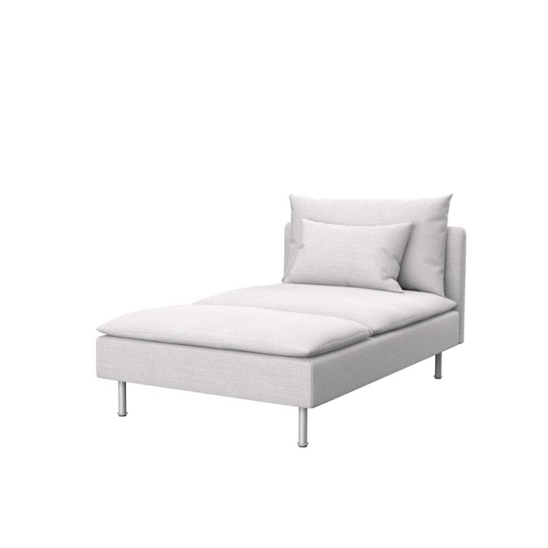 Chaiselongue ikea  IKEA SÖDERHAMN chaise longue cover - Soferia | Covers for IKEA ...