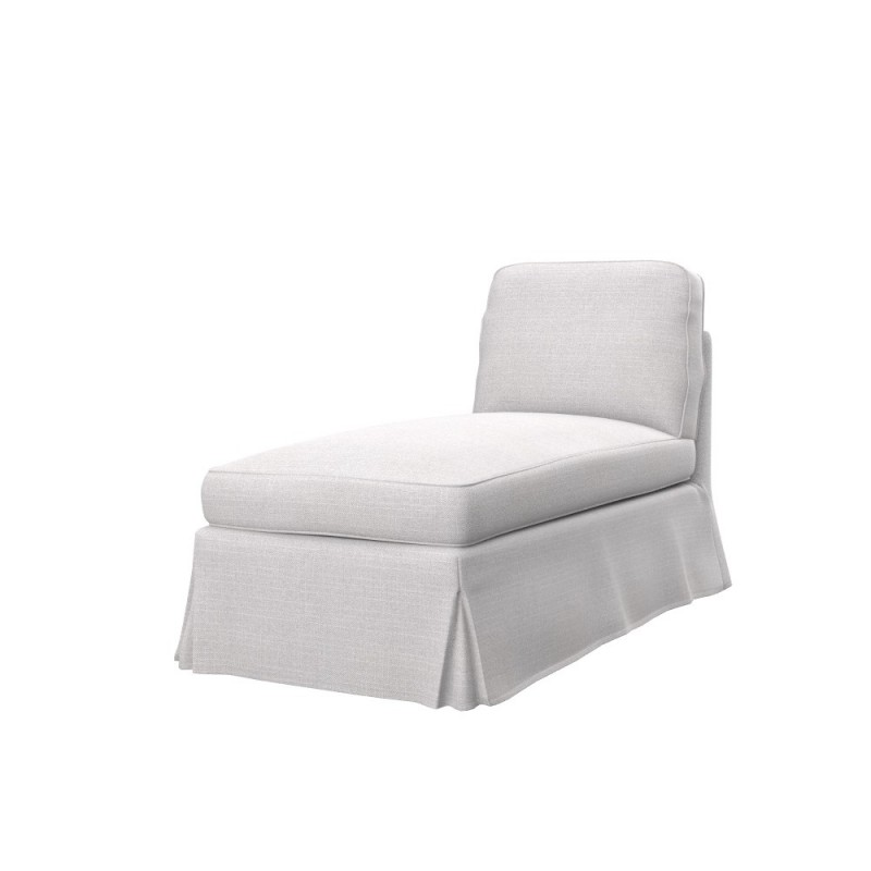 Ikea ektorp free standing chaise longue cover soferia for Chaise longue cover