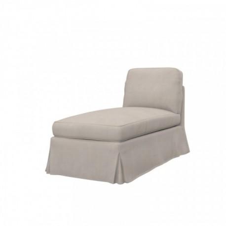 IKEA EKTORP free standing chaise longue cover