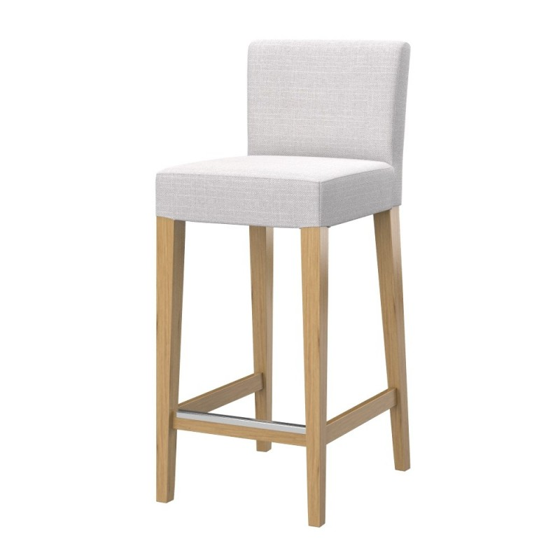 Hocker Ikea ikea henriksdal hocker chair cover with backrest soferia covers